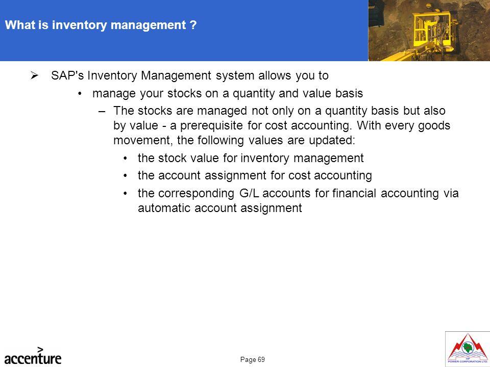 sap inventory management module pdf