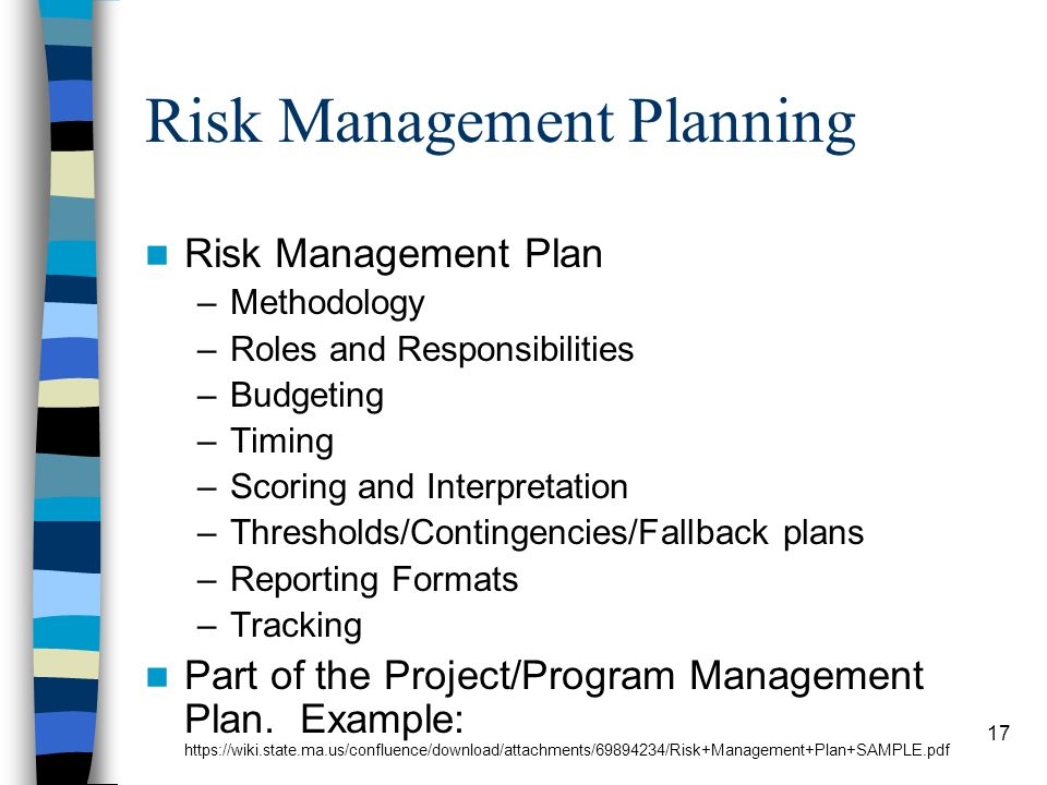 Risk Management: Interactive Learning Session - Ppt Video Online