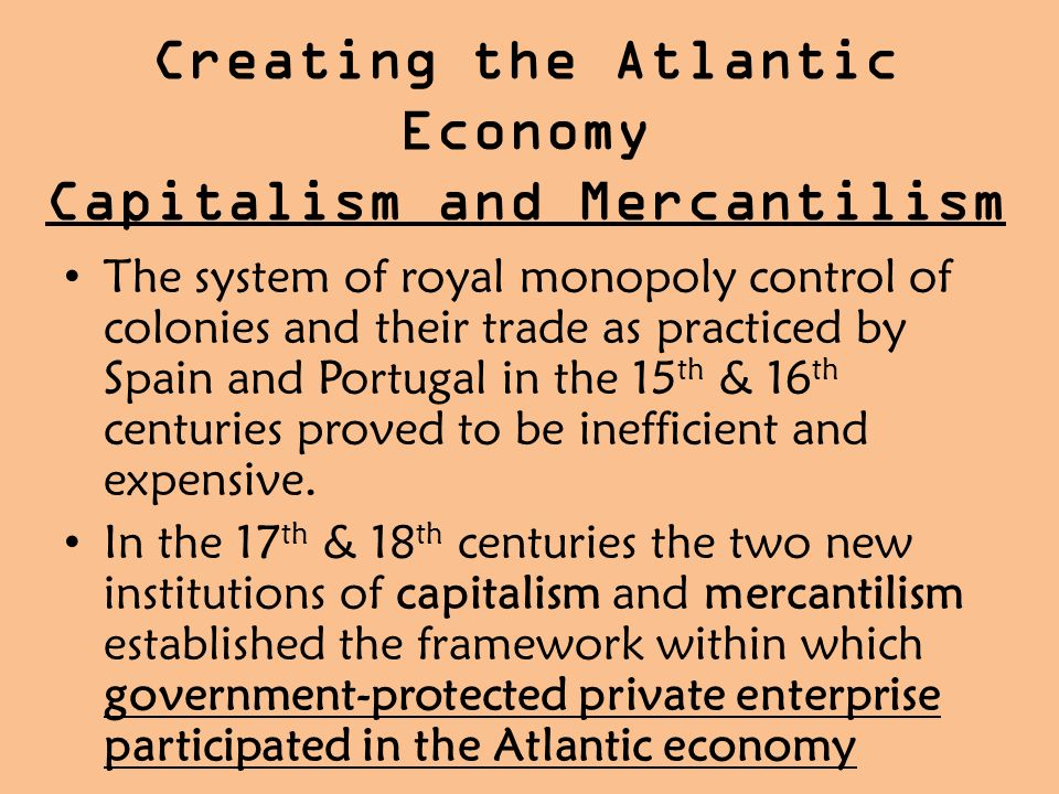 french mercantilism essay Richard cantillon (french: [kɑ̃tijɔ̃] 1680s – may 1734) was an irish-french economist and author of essai sur la nature du commerce en général (essay on the nature of trade in general), a book considered by william stanley jevons to be the cradle of political economy.