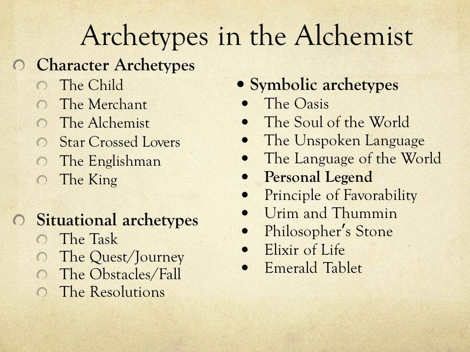 The Alchemist Analysis