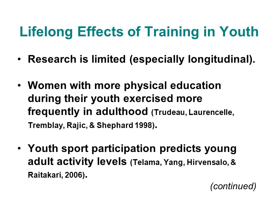 he effect of a training program The interaction effects of program training, dosage, and implementation quality on targeted student server, the attitude she or he has is integral to.