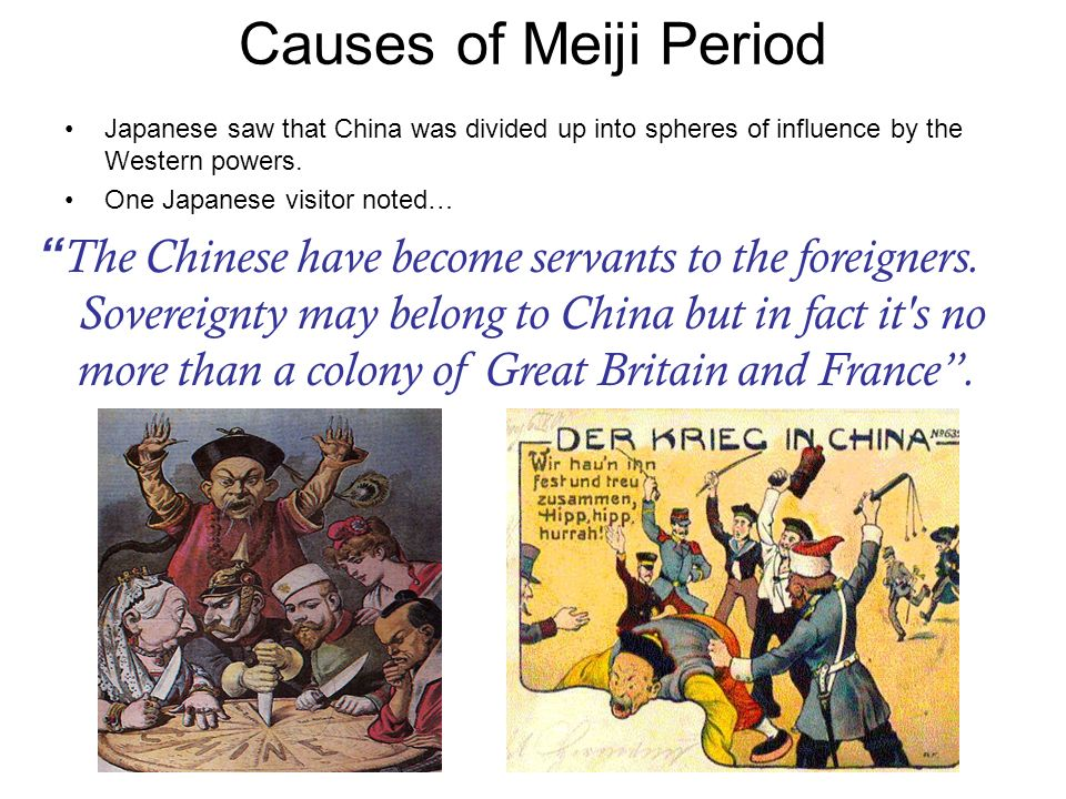 the significant changes in japan during the meiji period And what he chose to face was the history of the treaty revisions drawn up during the meiji period  edo period was ending, japan concluded a  changes in.