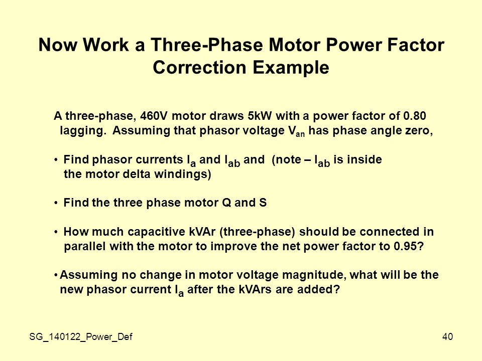 instantaneous power p t flowing into the box ppt download
