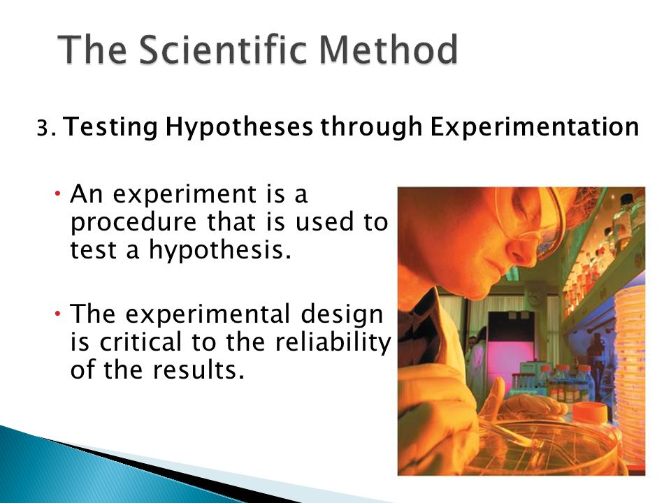 describe the scientific method used to create hypotheses and experiments What is the scientific method and why is it silly  create a hypothesis   fleming accidentally left a cover off a petri dish used to cultivate bacteria   albert michelson and edward morley built an experiment to measure the.