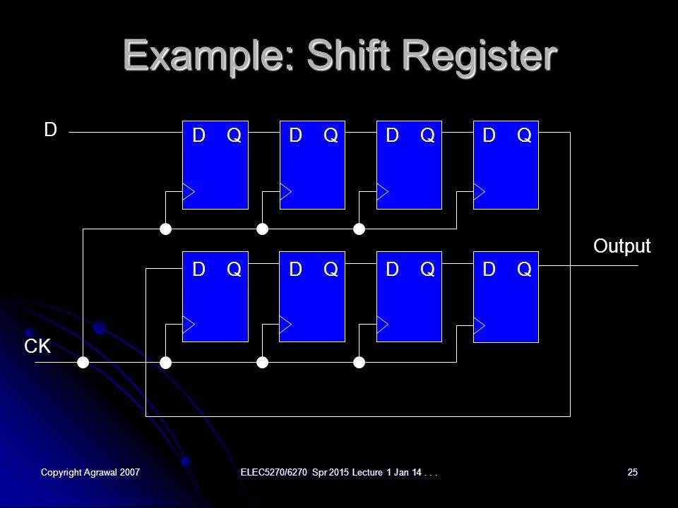introduction to shift register Ee577b verilog for behavioral modeling nestoras tzartzanis 1 february 3,  • register type declaration examples:  shift concatenation.