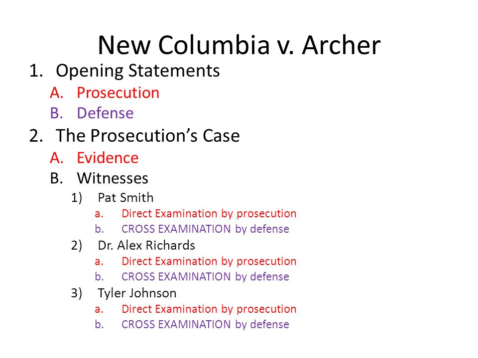 How to Write an Opening Argument for a Mock Trial