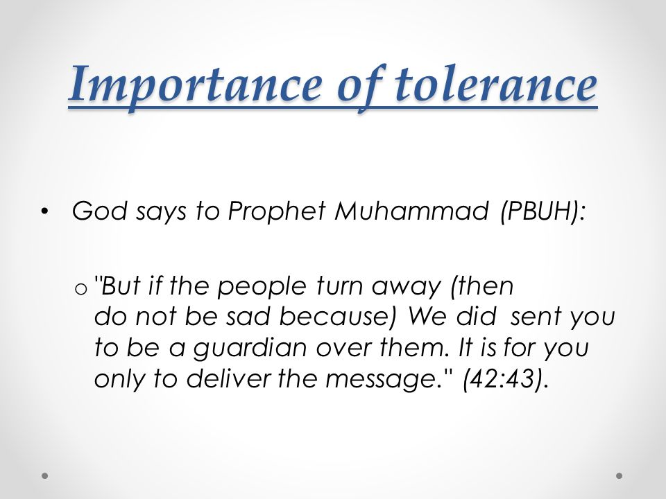importance of tolerance The meaning of tolerance this article is intended to clarify the concept of engineering tolerance and the importance of algebraic addition of tolerances, or 'stacking' what is tolerance tolerance, toleration, tolerable.