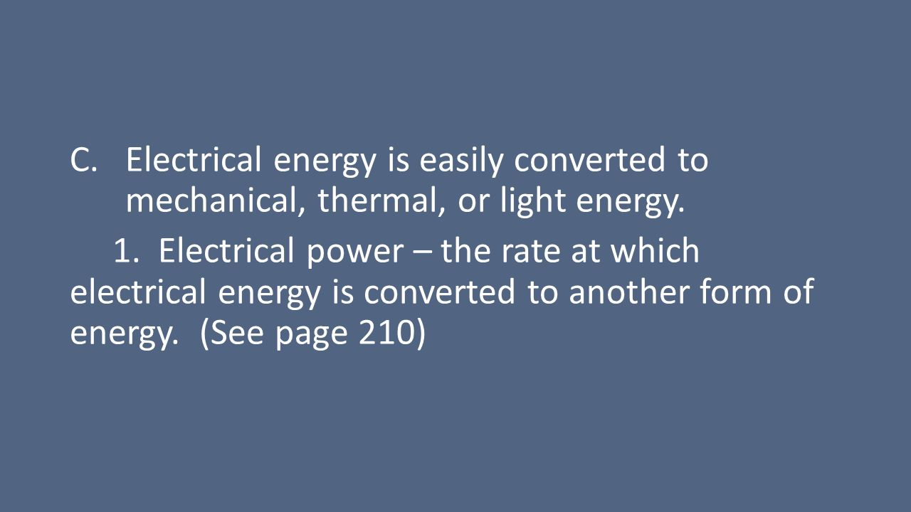 ELECTRICITY: Electrical Energy (Circuits) - ppt download