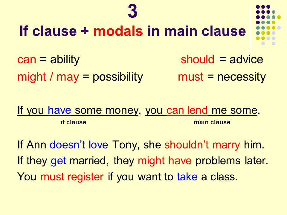 main clause Independent clause an independent clause (or main clause) is a clause that can stand by itself as a simple sentence an independent clause contains a subject and a predicate and makes sense by itself.