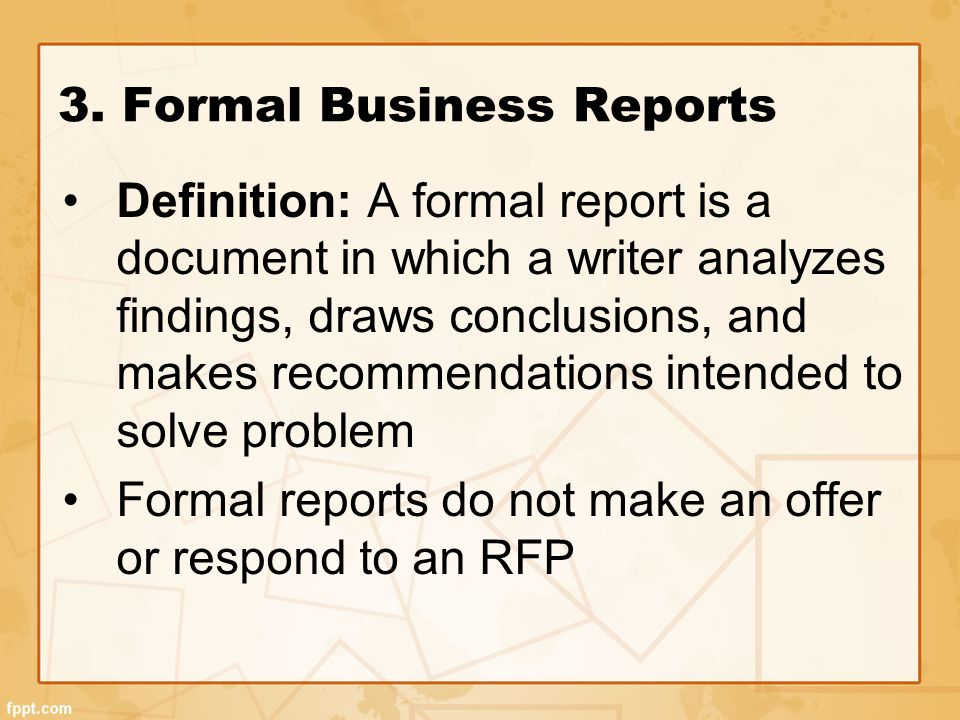 business report meaning