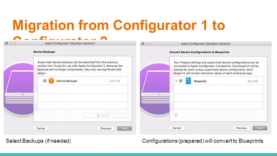 Apple configurator 2 whats new in ppt video online download migration from configurator 1 to configurator 2 malvernweather Images