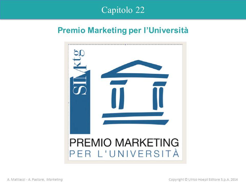 Premio Marketing per l'Università