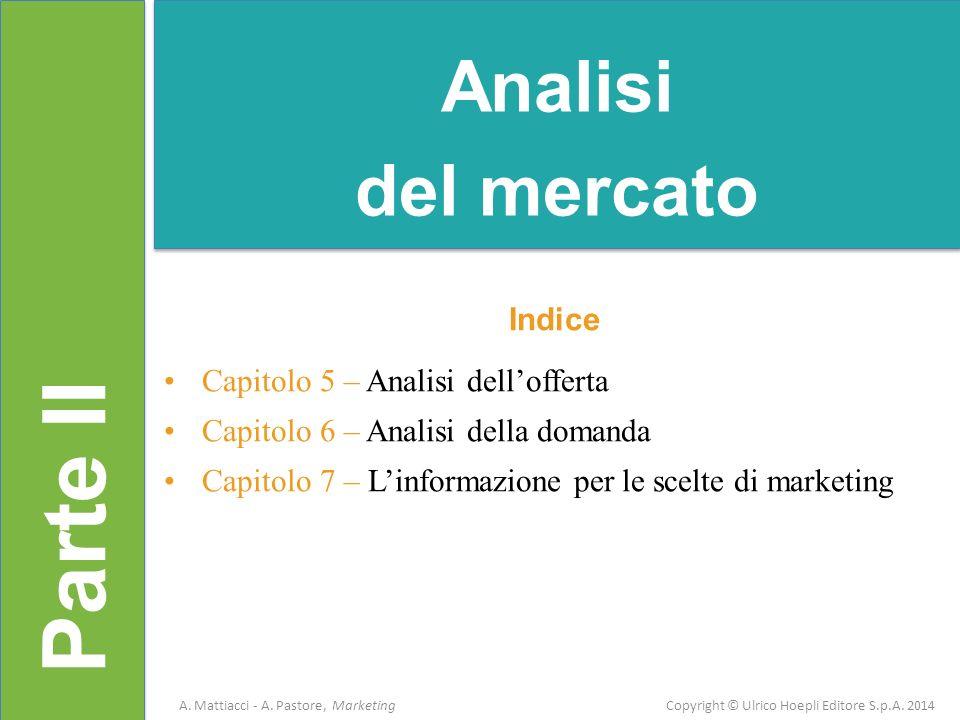 Parte II Analisi del mercato Indice