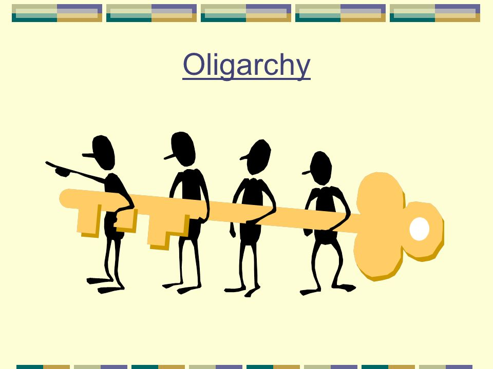 Oligarchy Clipart Forms of Governments. ...