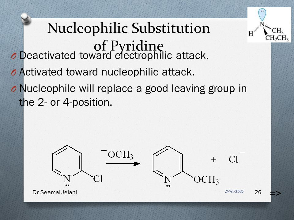 nucleophilic and electrophilic substitution reaction pdf