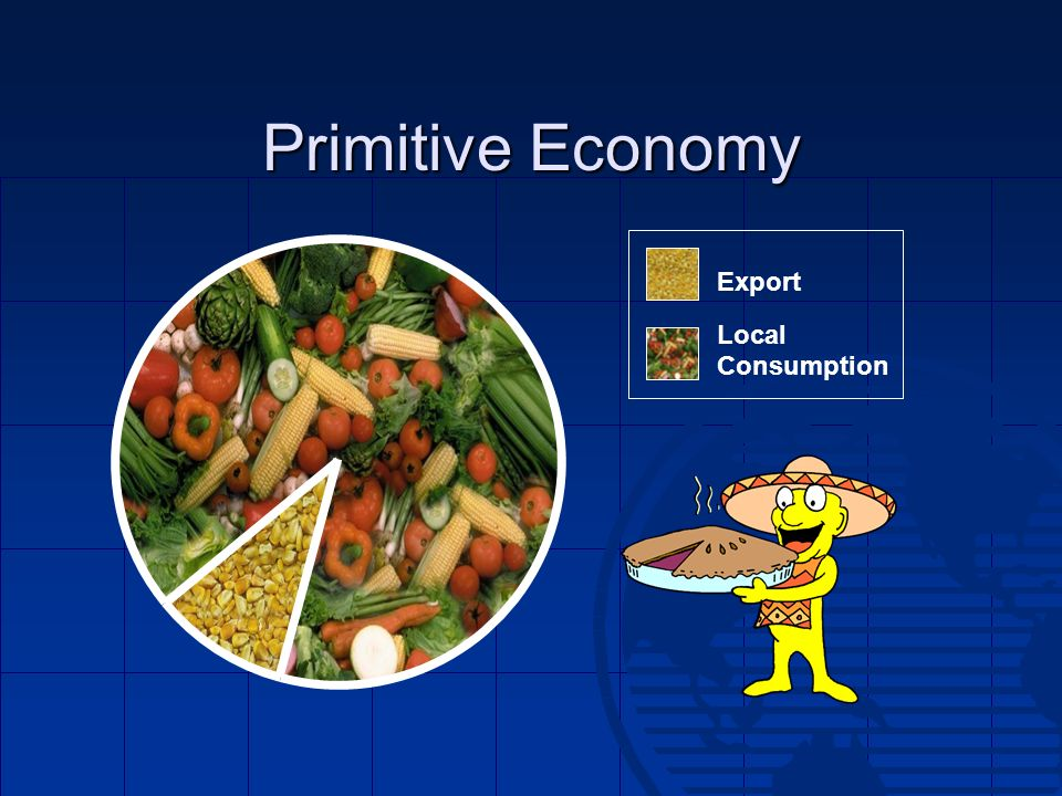 Primitive Economy Export Local Consumption