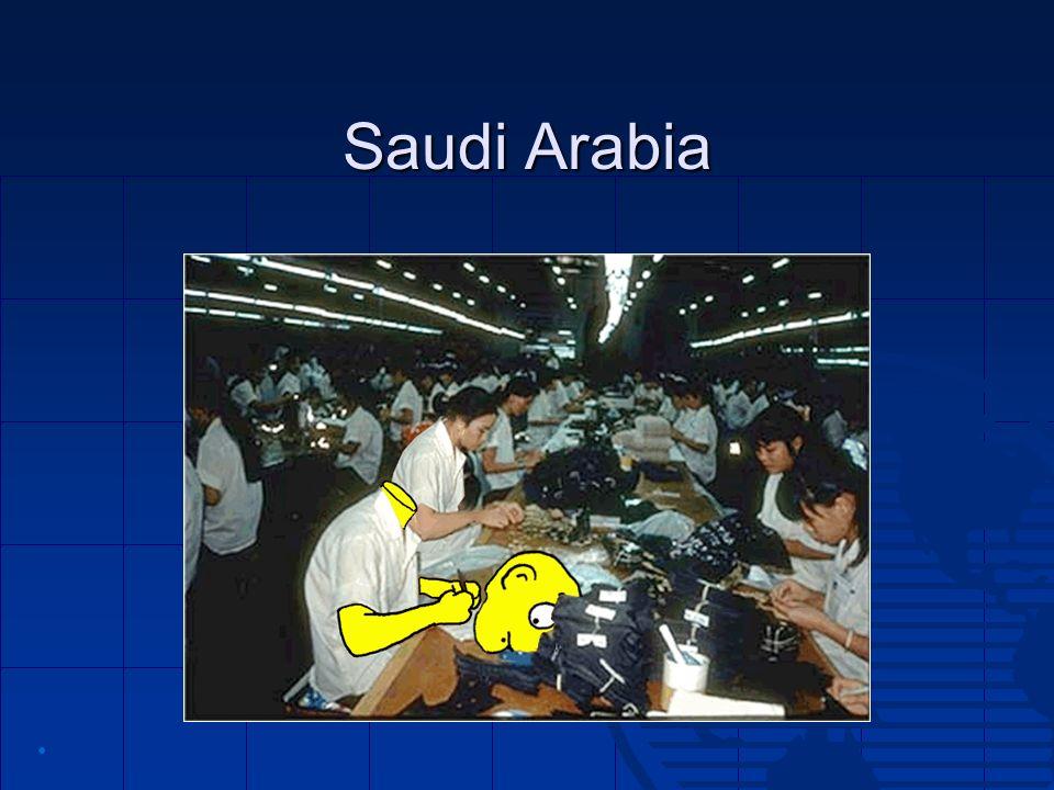 Saudi Arabia •
