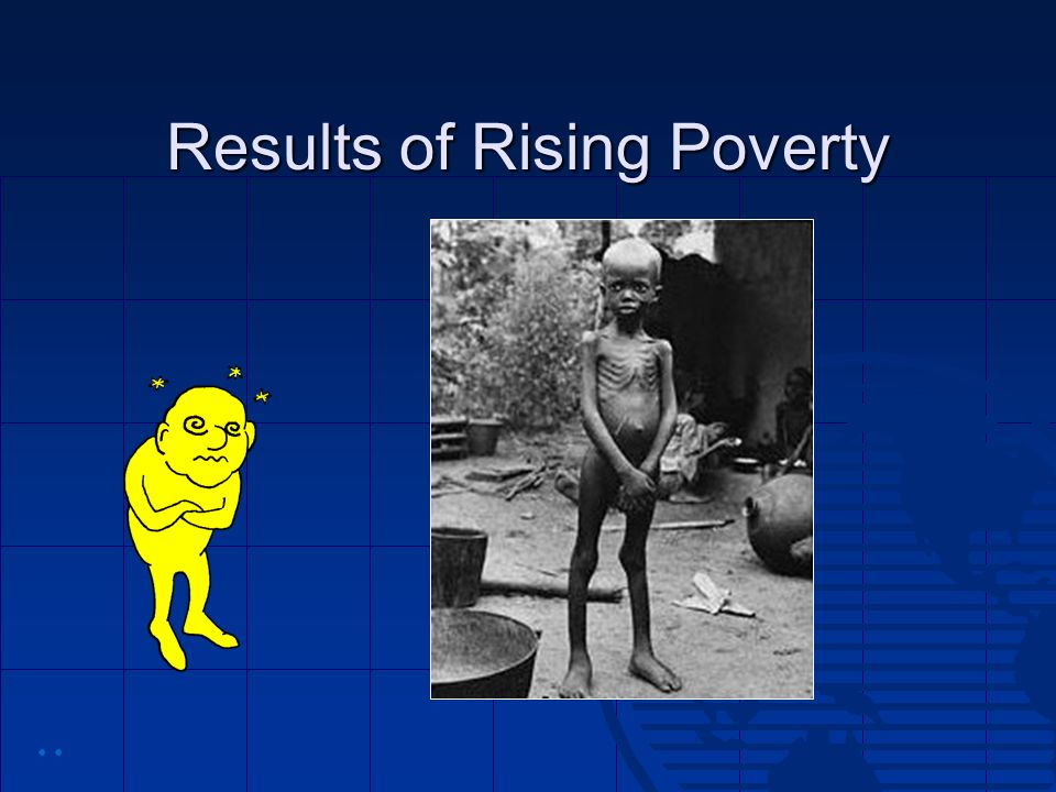 Results of Rising Poverty