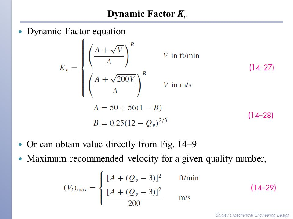 Dynamic Factor equation