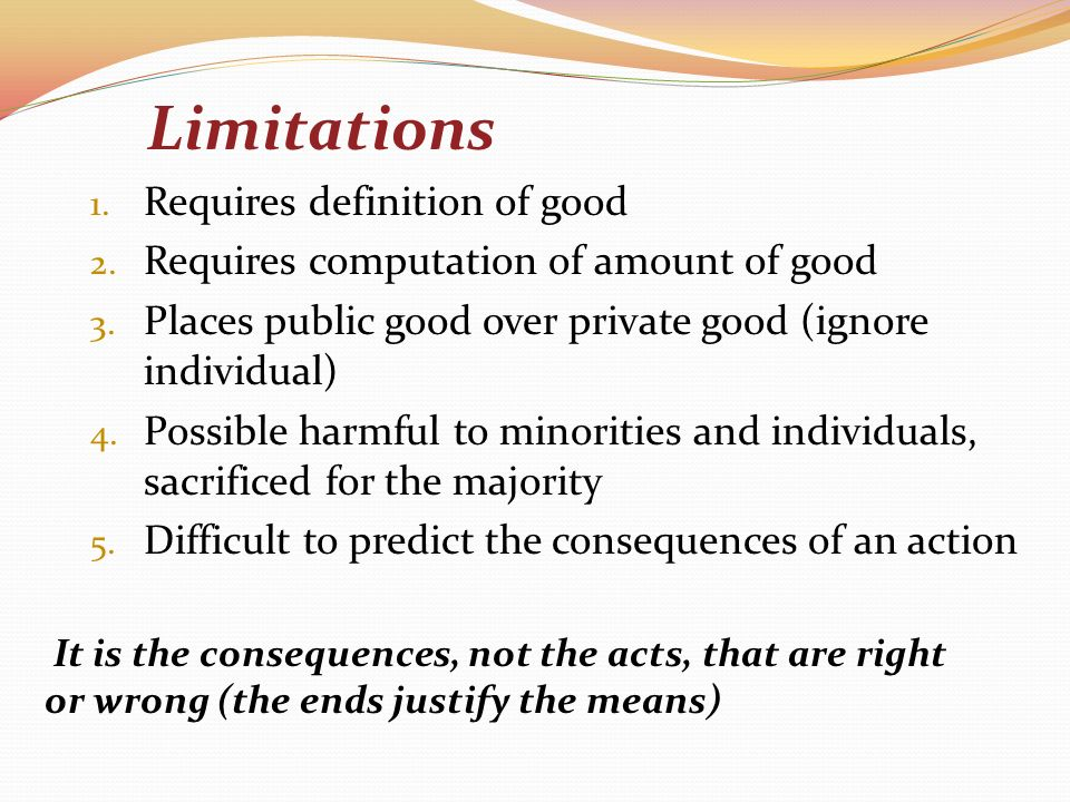 the definitions of the terms good and evil are based on the consequences of the actions The knowledge of good and evil and certainly uncomprehending of the possible consequences of his actions the developmental dynamics of evil in terms of its.