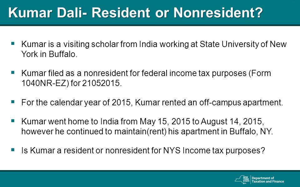 ny non resident tax form