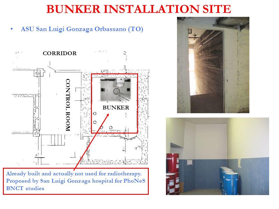 BUNKER INSTALLATION SITE