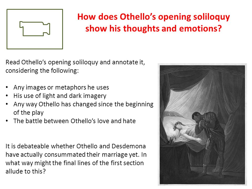 Othello and Macbeth Show Evil?
