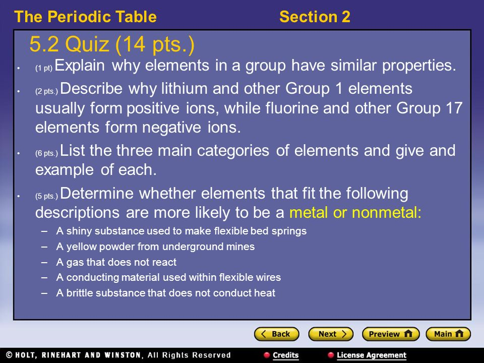 Explain Why Elements In A Group Have Similar Properties
