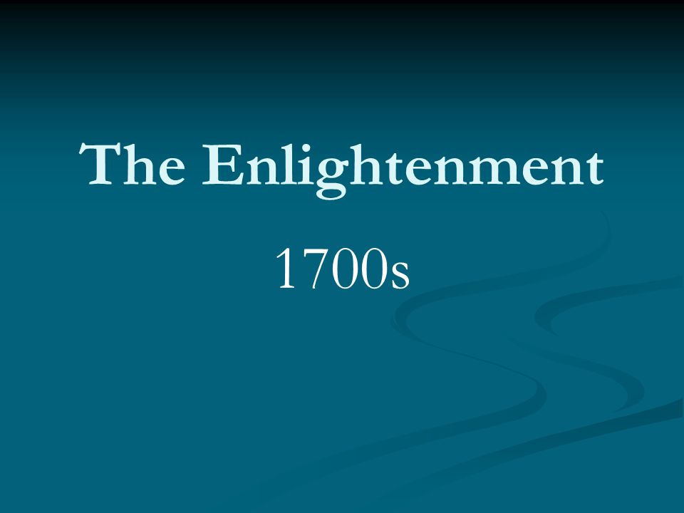 essay on the enlightenment period The enlightenment in europe came on the heels of the age of science it dates from the end of the 17th century to the end of the 18th century beginning wi.
