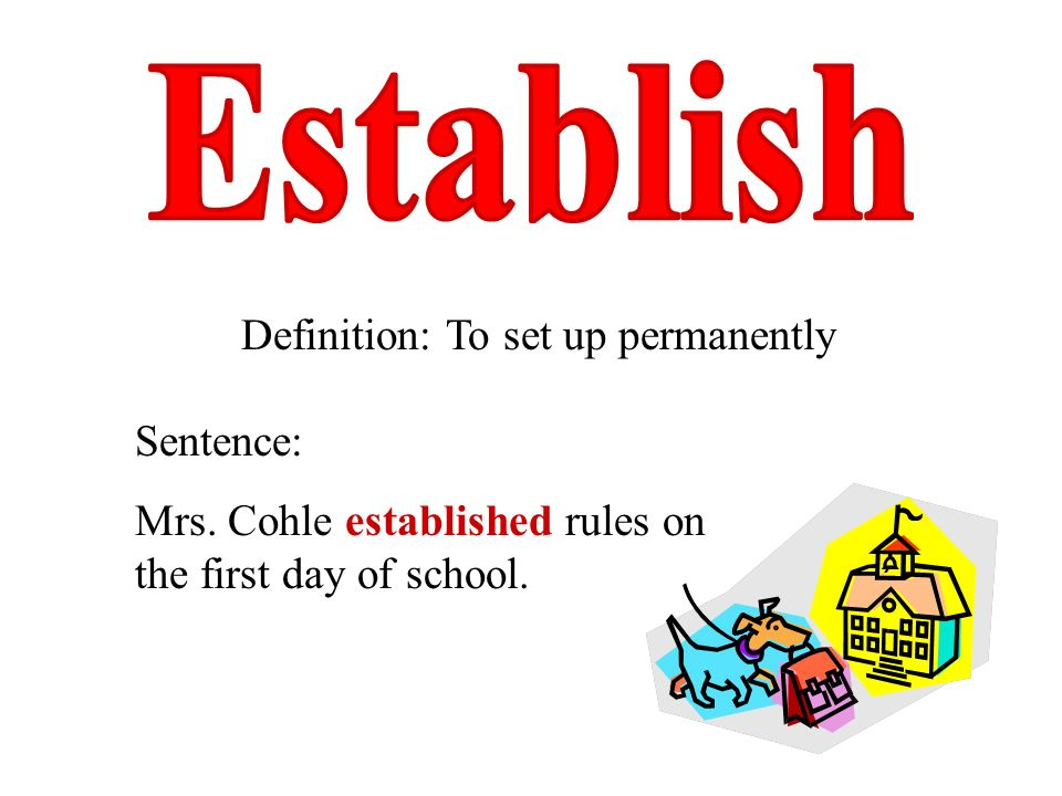 Hillside elementary school ppt video online download for Set up meaning