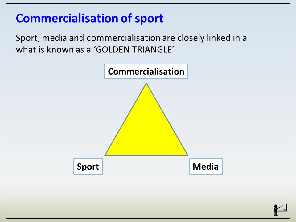 commercialization of sports The high-pressure commercialization of the youth sports pipeline knows no  bounds.