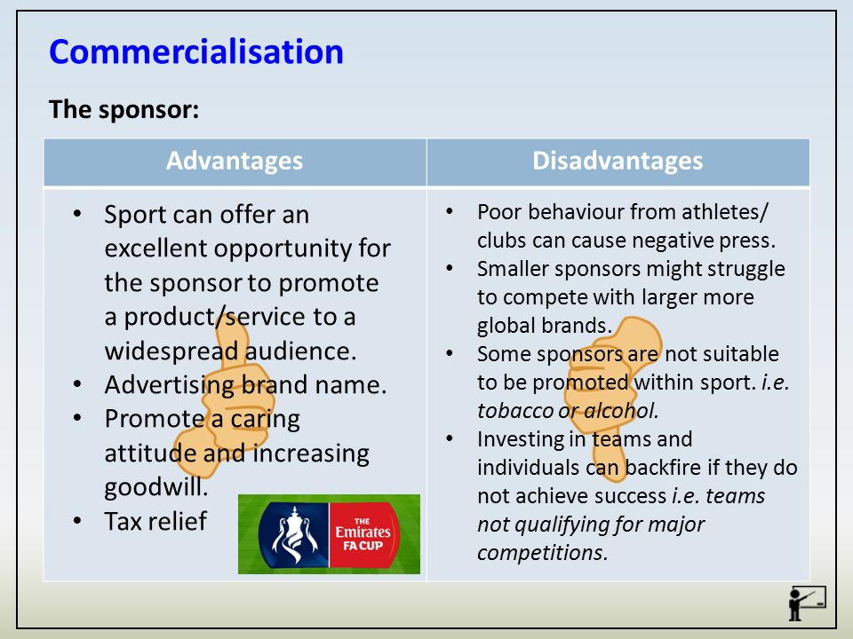 sports advantages and disadvantages essay Essay disadvantages of sports and advantages business answers - dissertation guidance: i am working on my dissertation in organizational leadership and am lo.