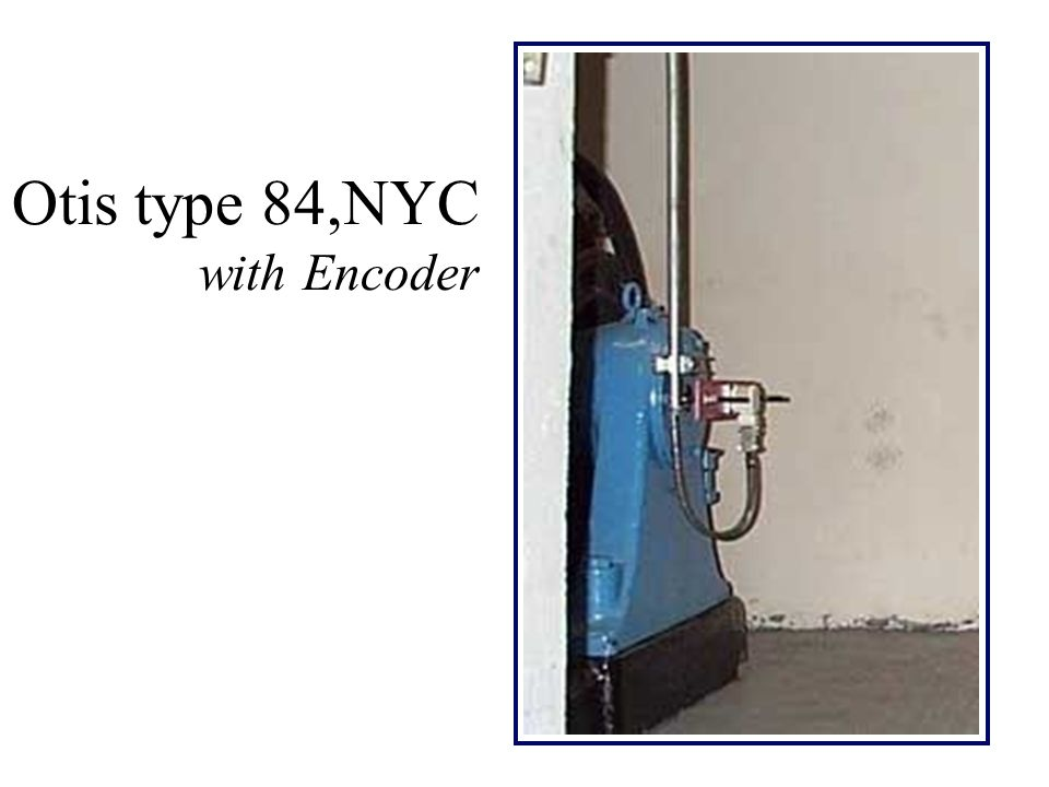 Otis type 84,NYC with Encoder