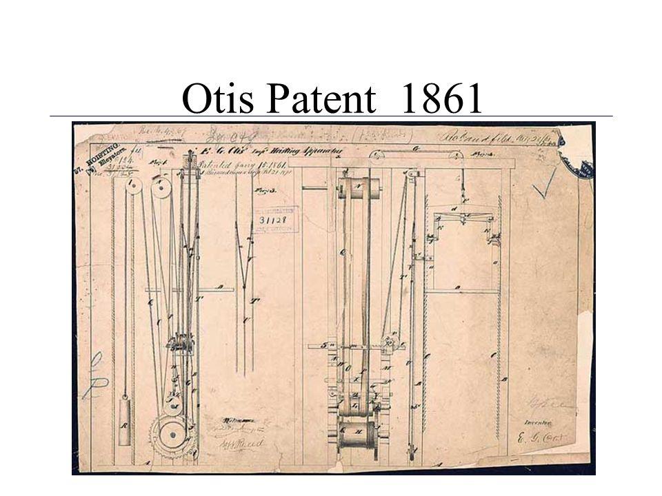Otis Patent 1861 3