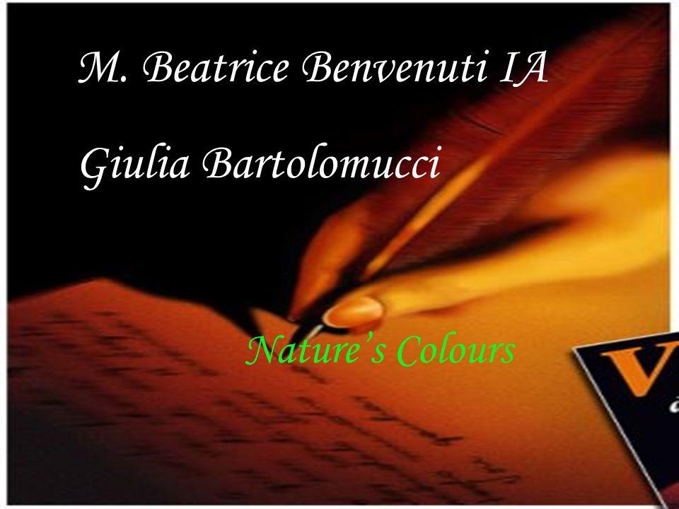 M. Beatrice Benvenuti IA