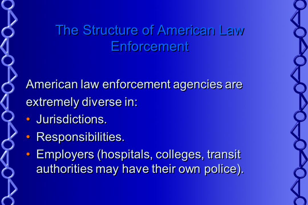 the changes and roles of law enforcement in america The role of police in america the history of law enforcement is filled with fascinating facts and inforamtion these cries for help were eventually heard by those with the power and authority to exact changes upon police organizationsthe people.