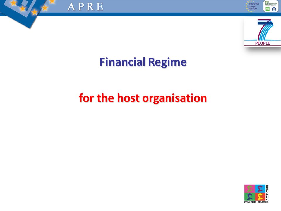 for the host organisation