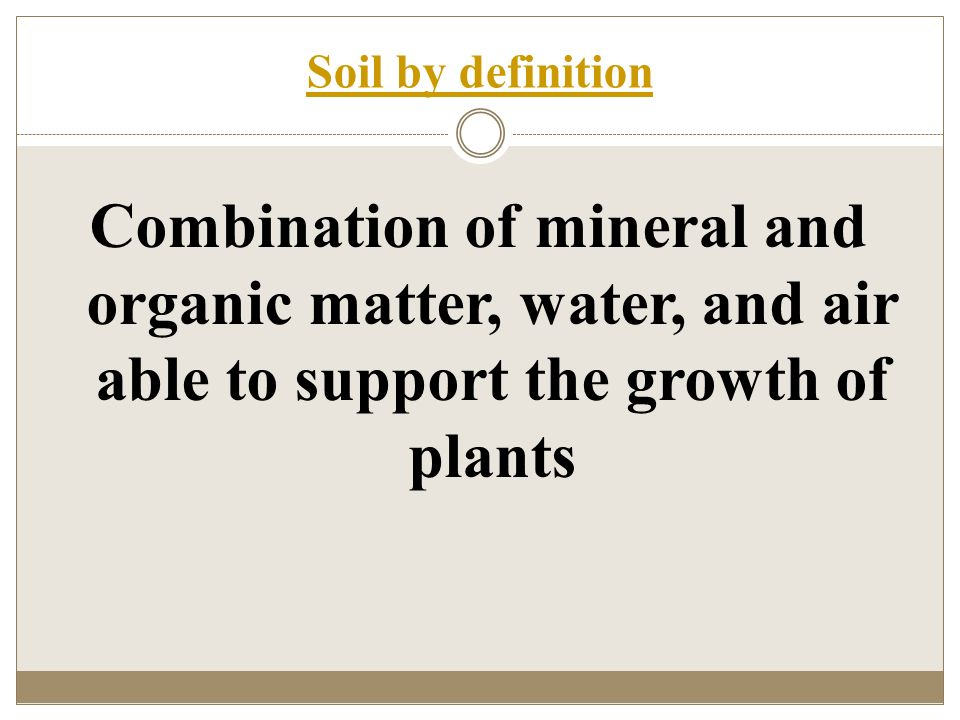 Factors and processes of soil formation ppt video online for Mineral soil definition