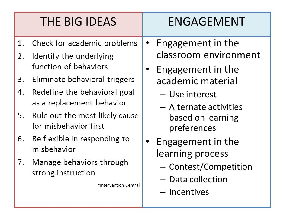 Classroom Engagement Ideas ~ Changing the classroom structure to enhance student