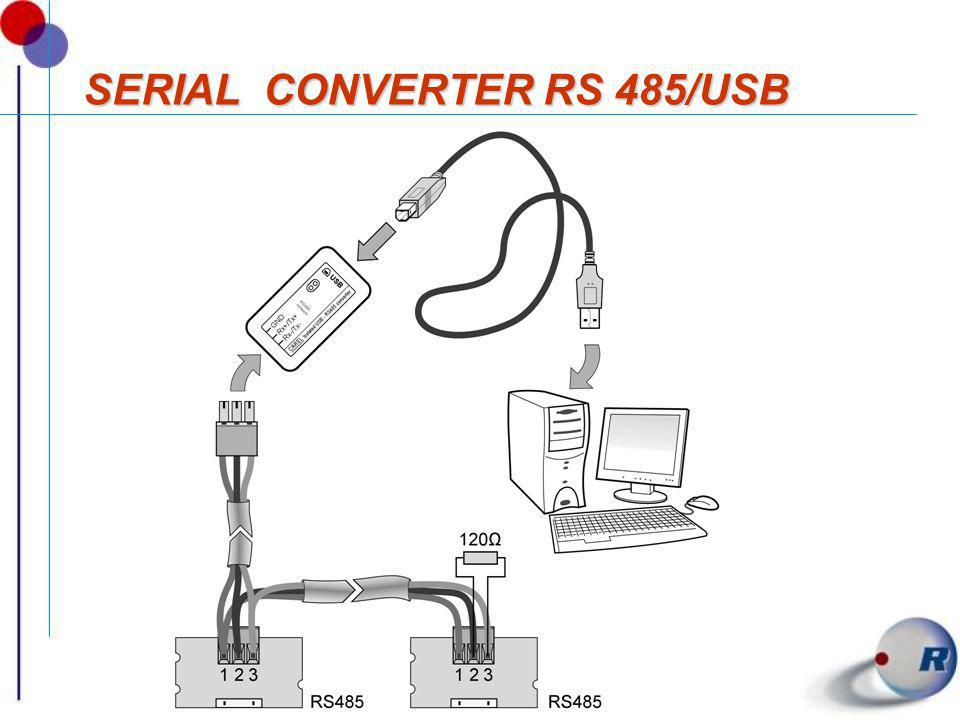 SERIAL CONVERTER RS 485/USB