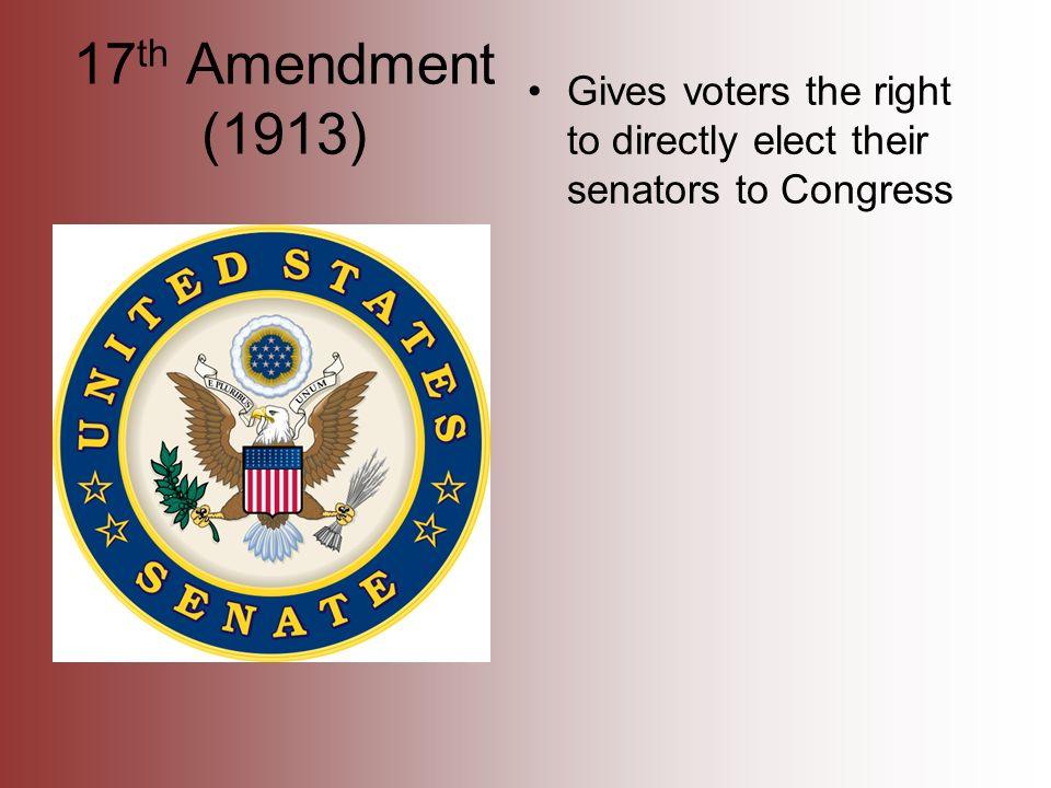 The Original Senate and the Seventeenth Amendment By Todd J  Zywicki National Foundation for Women Legislators