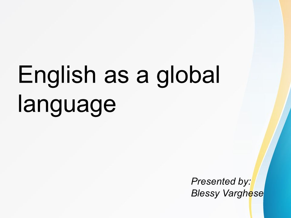 introduction english from a global language to The english language: a very short introduction simon horobin very short introductions provides a concise, accessible, and worldwide history of english.