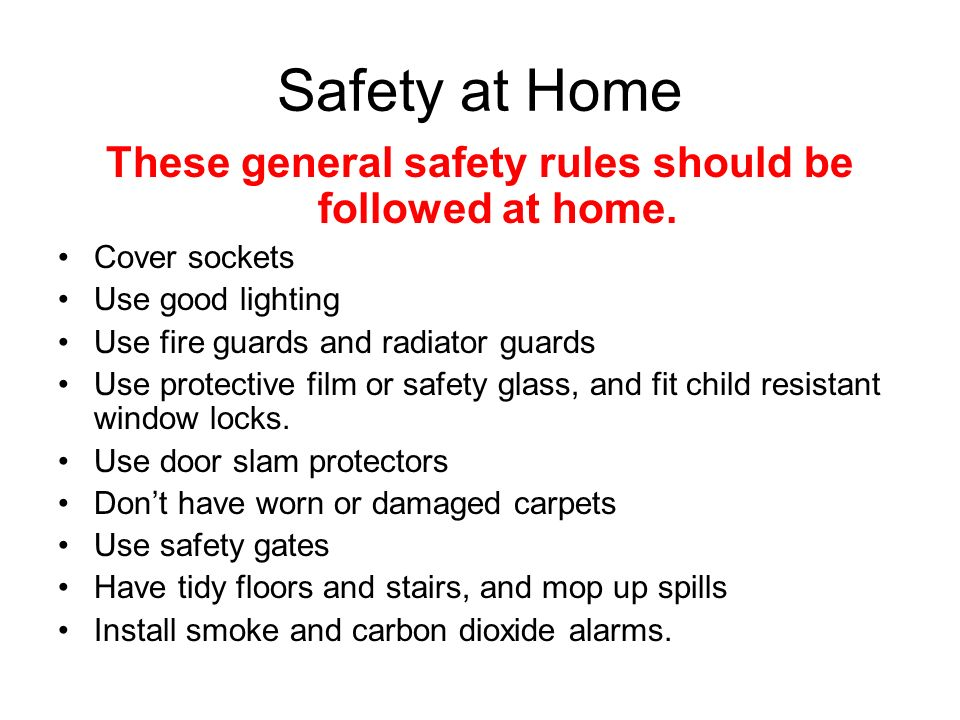 Year 10 child development ppt download for 3 kitchen safety rules