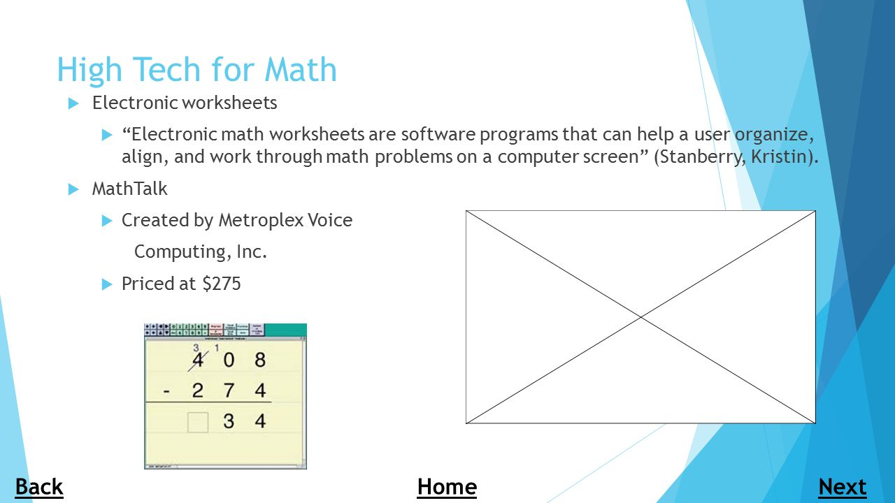 Assistive Technology in the Classroom ppt download – Electronic Math Worksheets