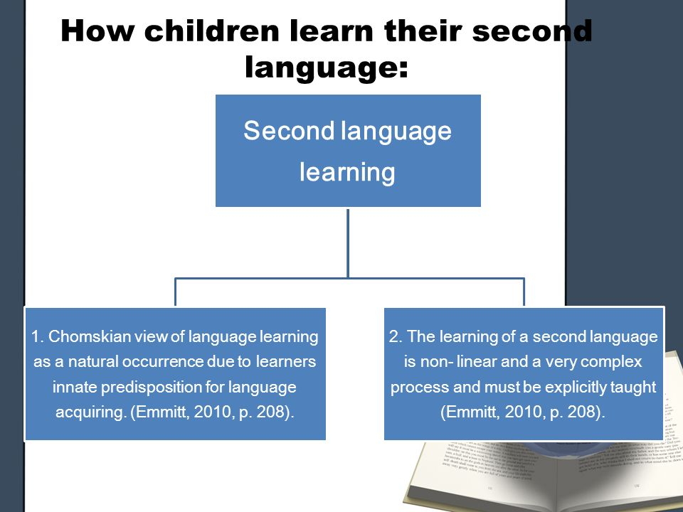 Language is Learned