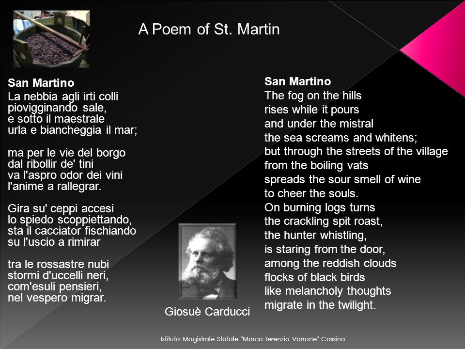 A Poem of St. Martin