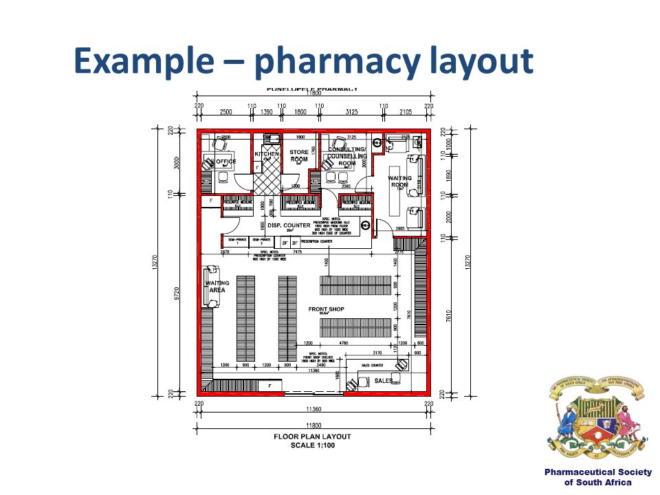 The community pharmacy environment hmi public hearing set for Pharmacy design floor plans