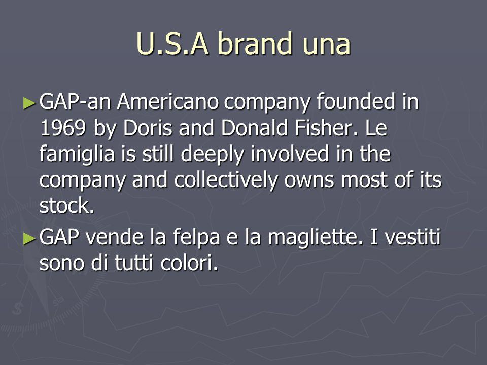 U.S.A brand una