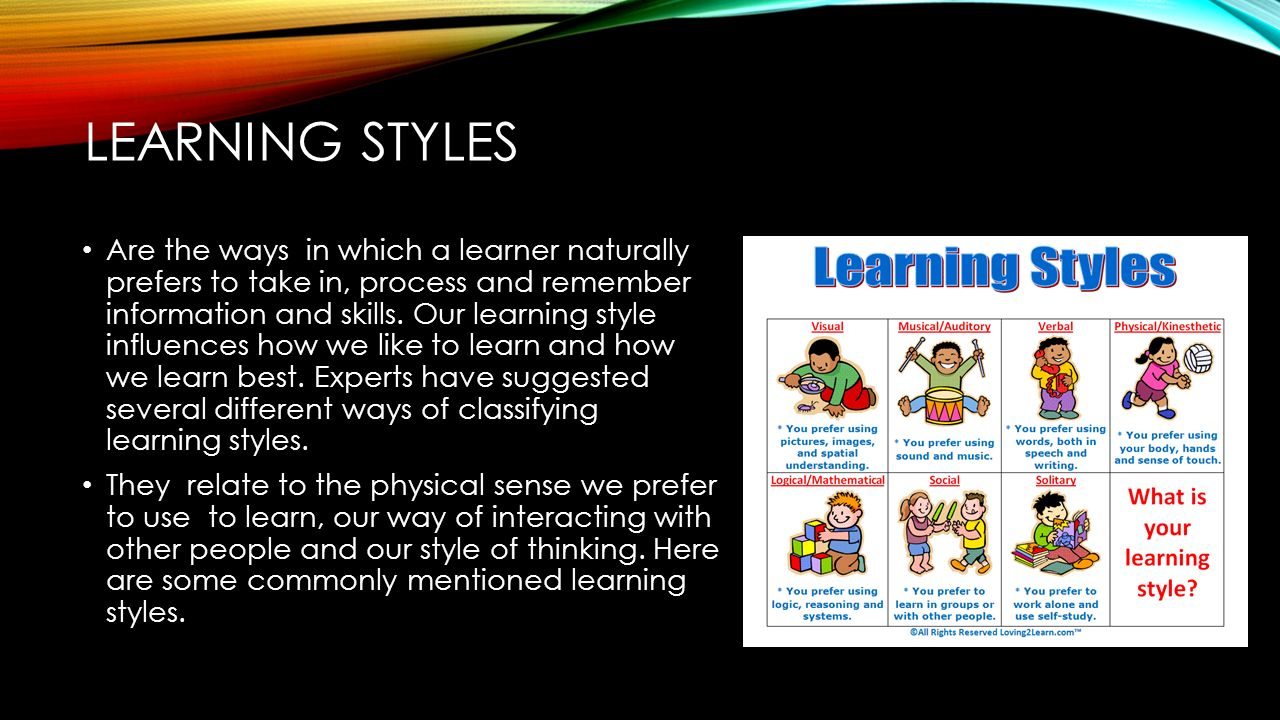 learners characteristics and needs Prior to identifying the target audience, the instructional designer needs to have an understanding of learner styles or characteristics smith and ragan identify four categories of learner characteristics: cognitive, physiological, affective, and social.