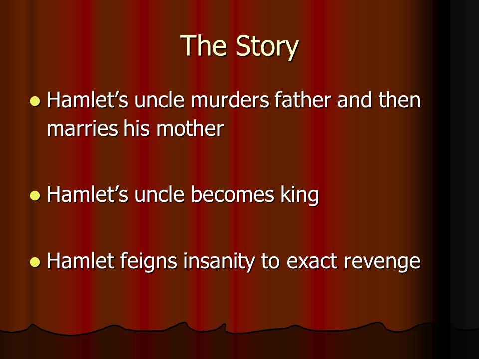 Death and Revenge in Hamlet